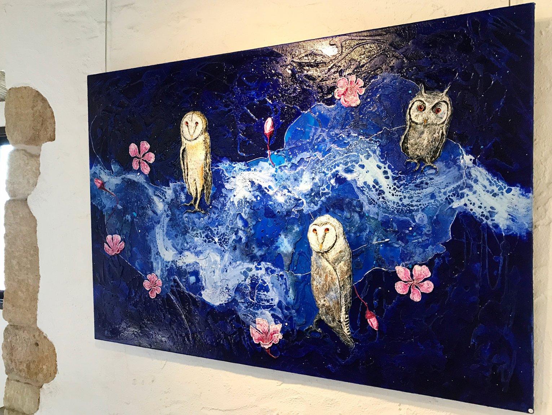 Sakura owl (2018) - Narcís Bosch Álvarez - Narcís Bosch