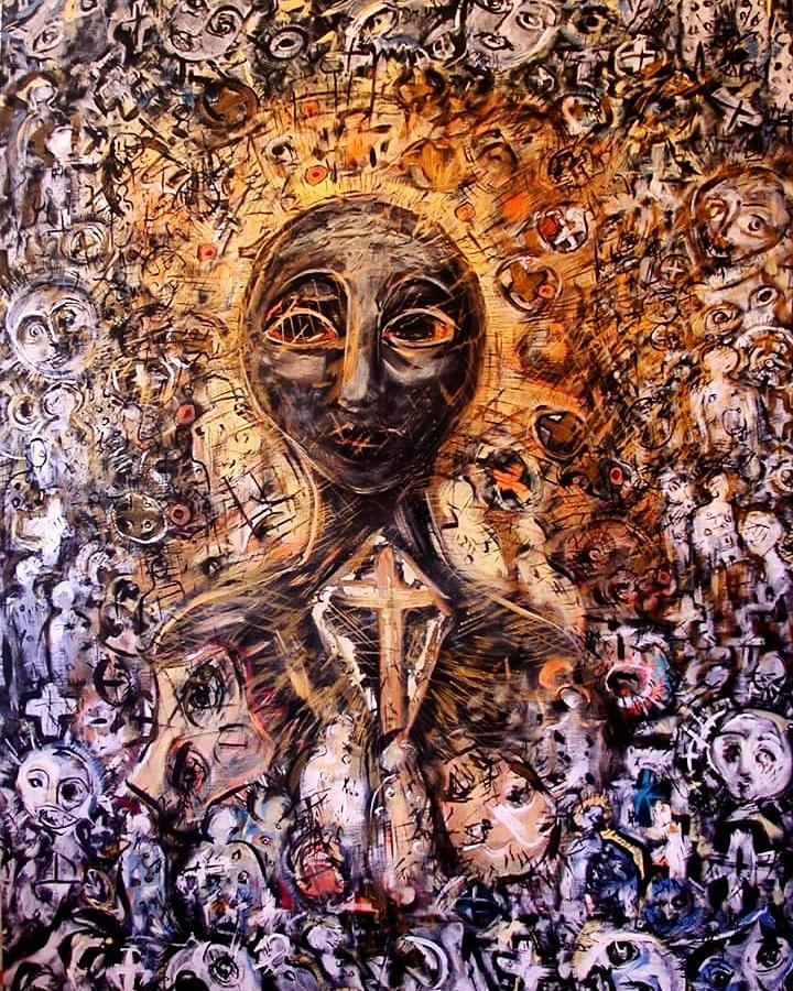 La crucifixión de María (Serie Negra) (2000) - María Eugenia Catoni