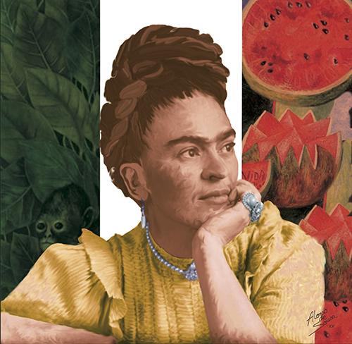 Frida Kahlo (2020) - Alonso de Sousa