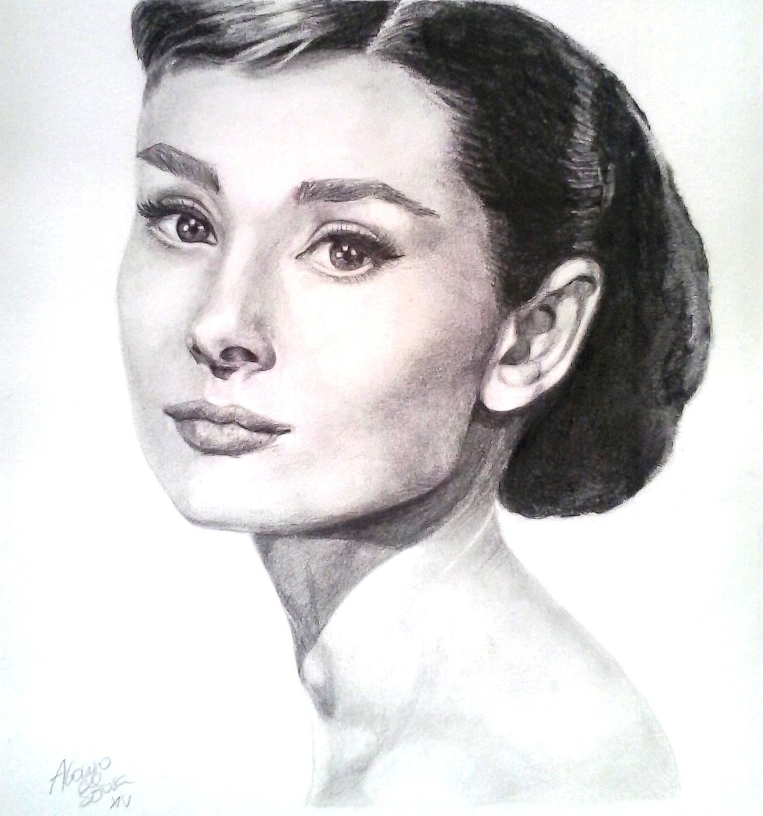 Audrey. Retrato (2014) - Alonso de Sousa