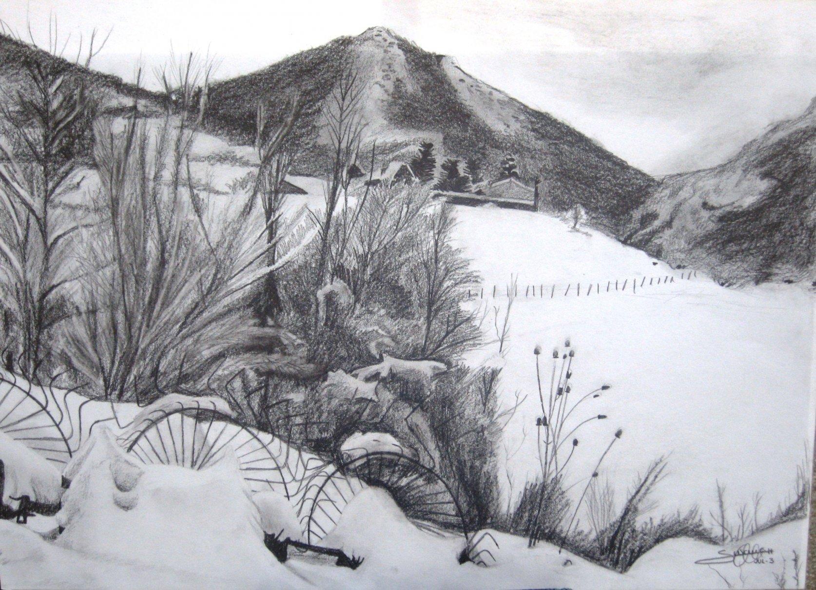 Detrás de casa nevado (2003) - Alonso de Sousa