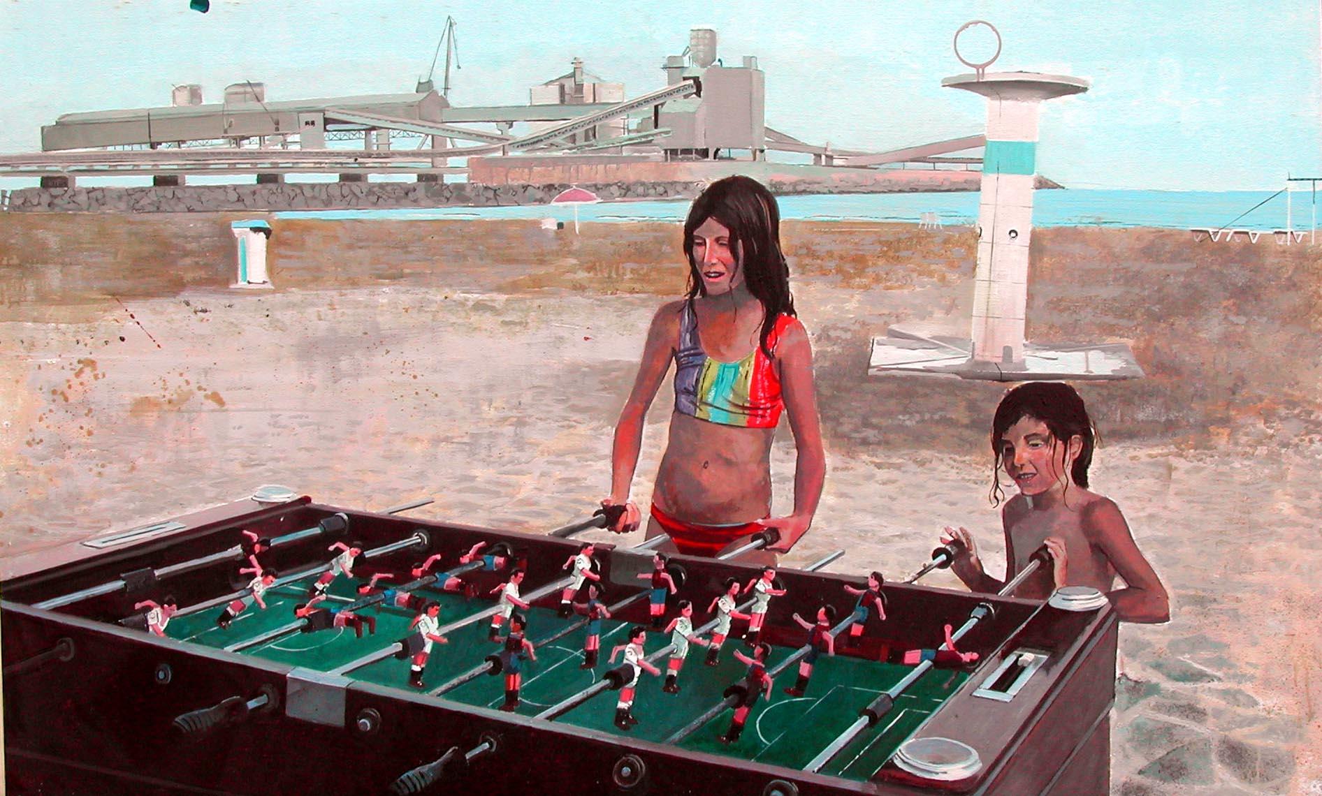 nenes a la platga (2004) - Sergi Ramírez
