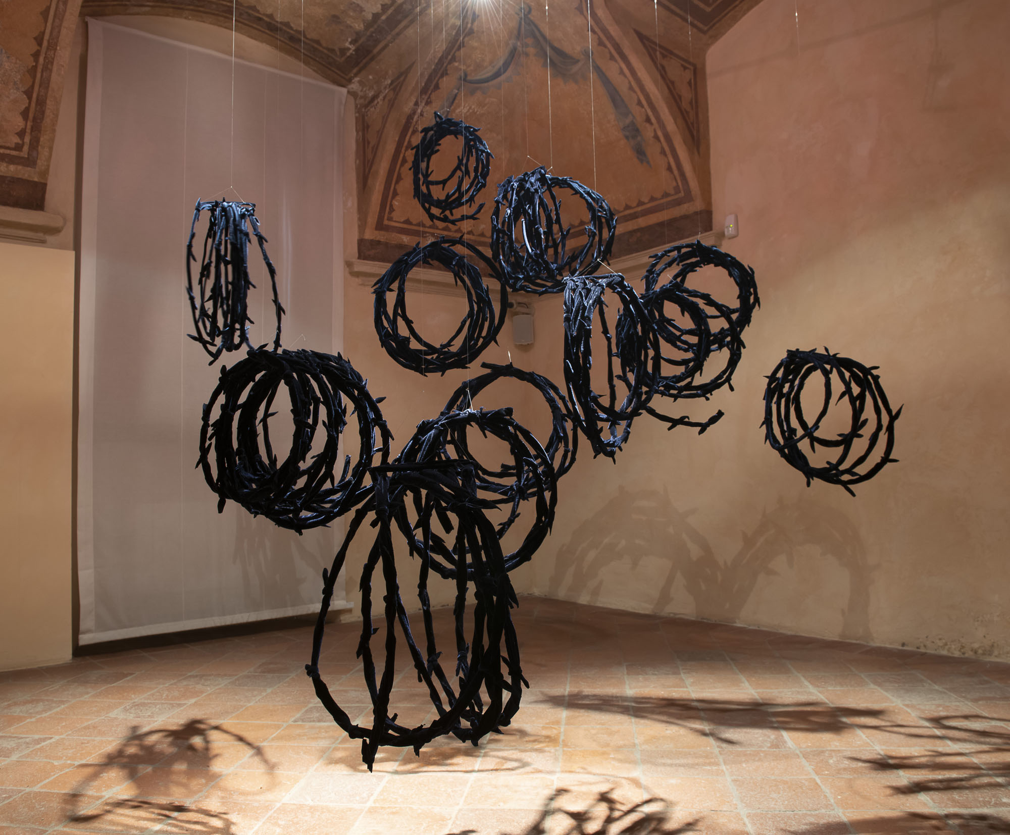 Filo spinato ( alambre de púa) (2018) - Elizabeth Aro
