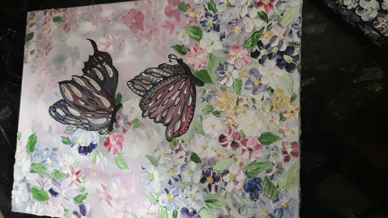 Mariposas entre flores (2017) - Ouafa Sidfi