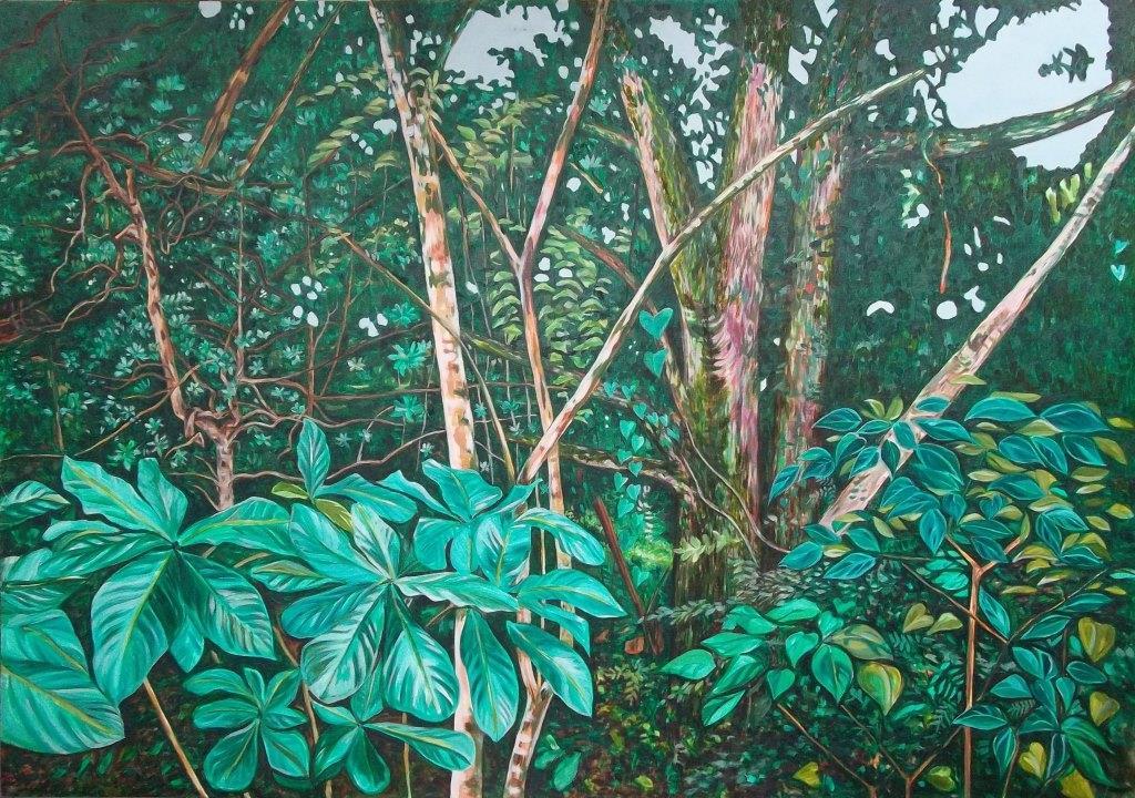 Dos arboles. (2002) - Patricia Coenjaerts