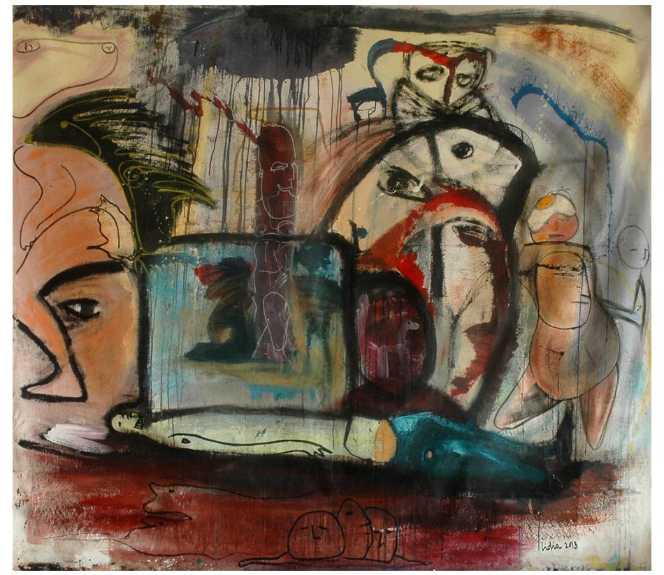 Poni enjaulado (2014) - Lidia Toga