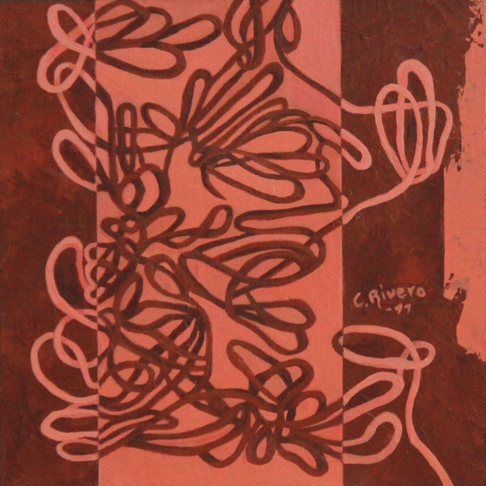 Serie hierba, árbol, flor.