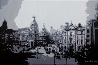 Madrid Serie Pop: Calles Gran Vía y Alcalá años 30