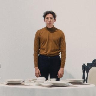 """Mi pieza """"Pasajero_ Liminal"""" en la exposición San Felipe Lab 01 en Galeria Elvira Moreno"""