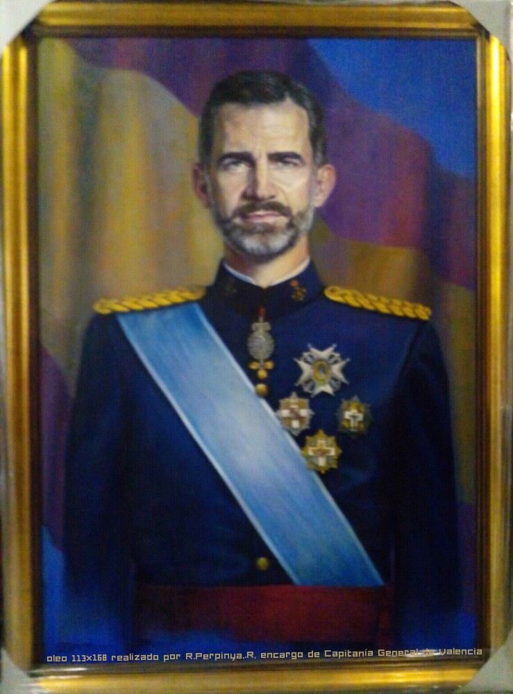 Rey Felipe VI (2015) - Remei Perpinya - PERPINYÀ