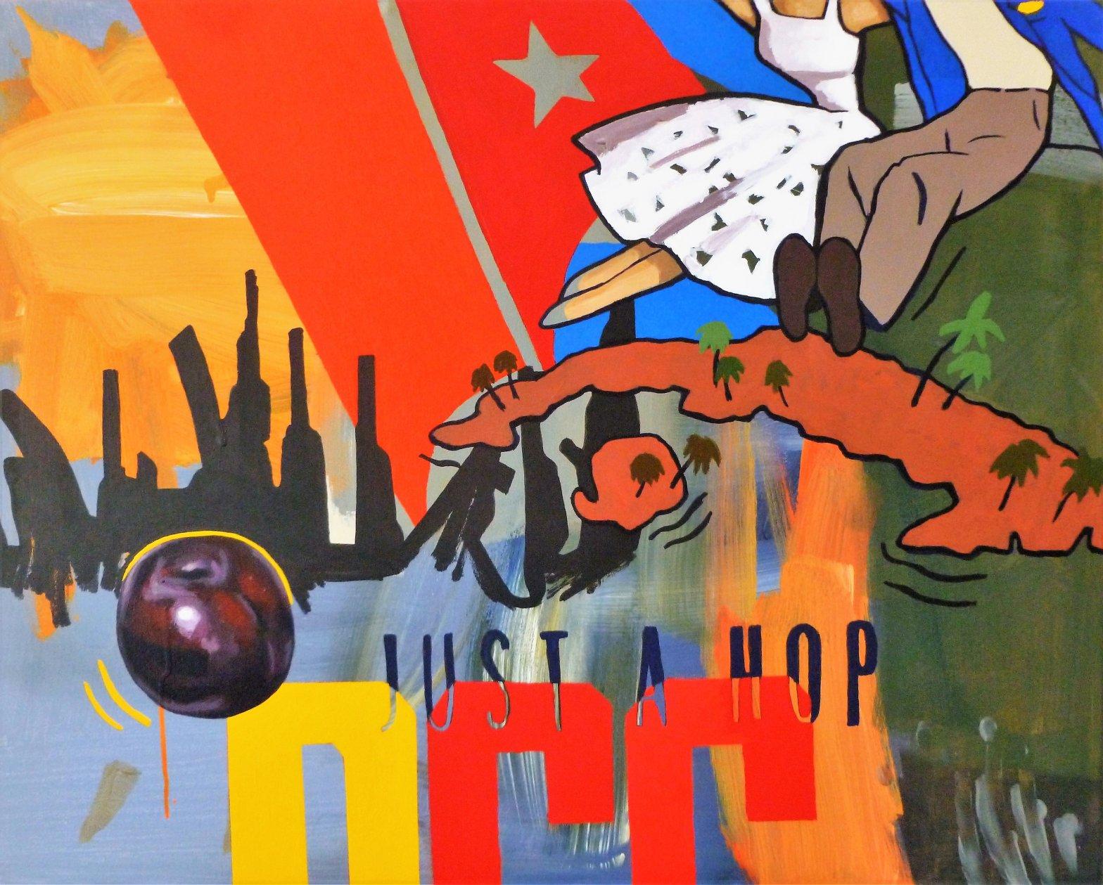 A Hop and a Plum (2016) - Rafael López-Ramos