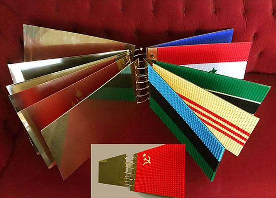 """TEN MISSING FLAGS"" libro objeto (2020) - Chus García-Fraile"