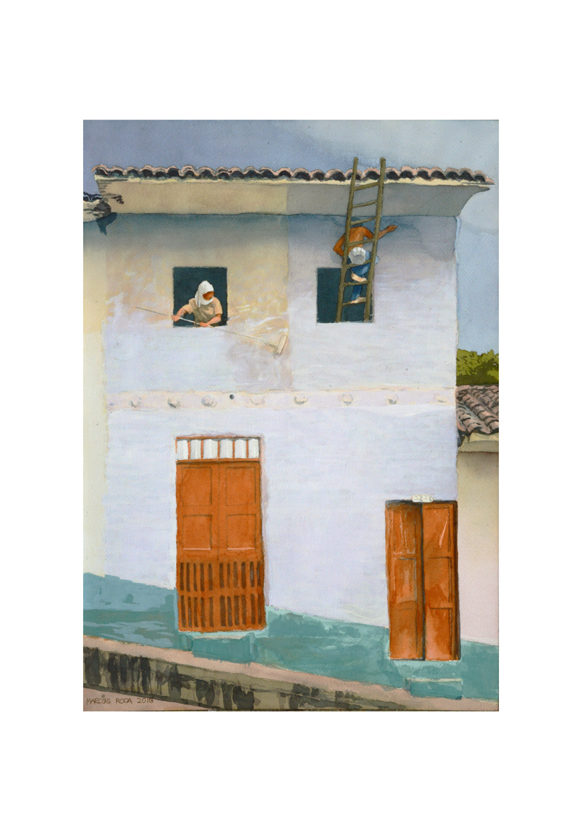 La Casa Pintada (2016) - Marcos Roda