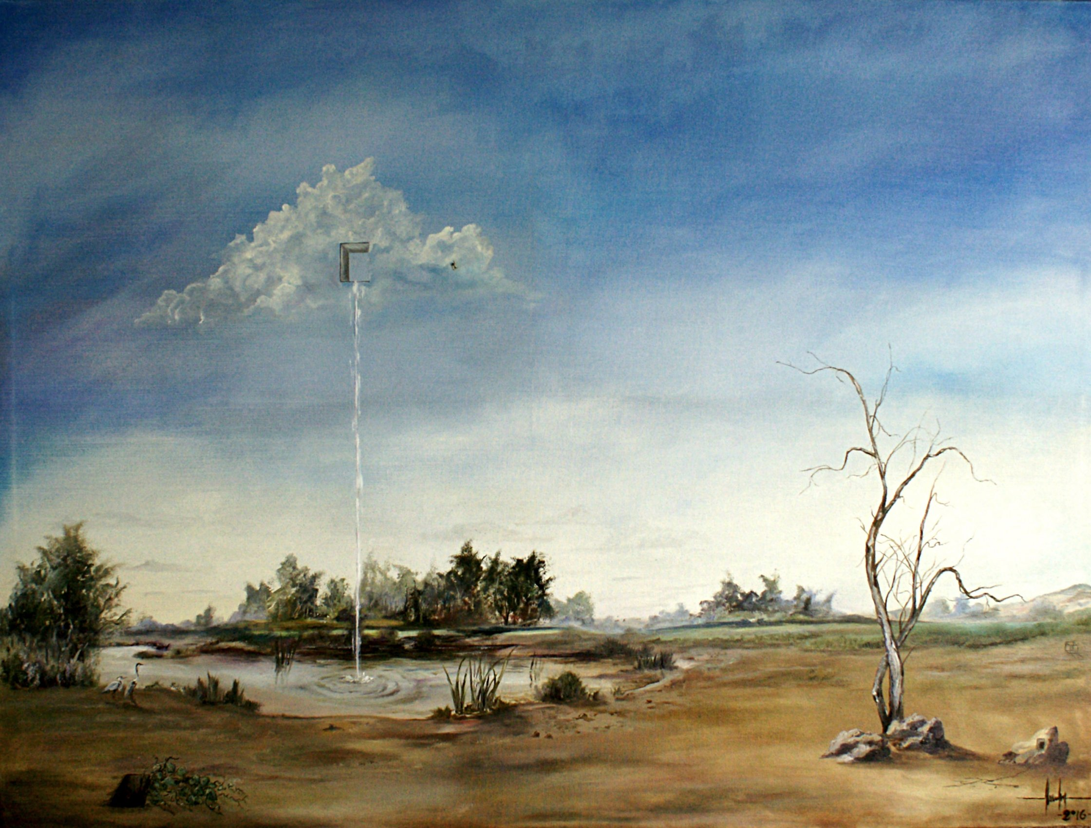 La nube rota en le paralelo treinta y tres (2016) - Maximiliano Moreno