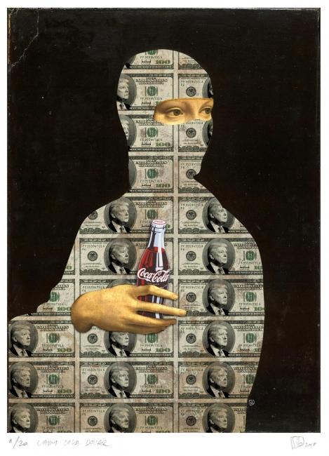 Lady Coca Trump Dollar