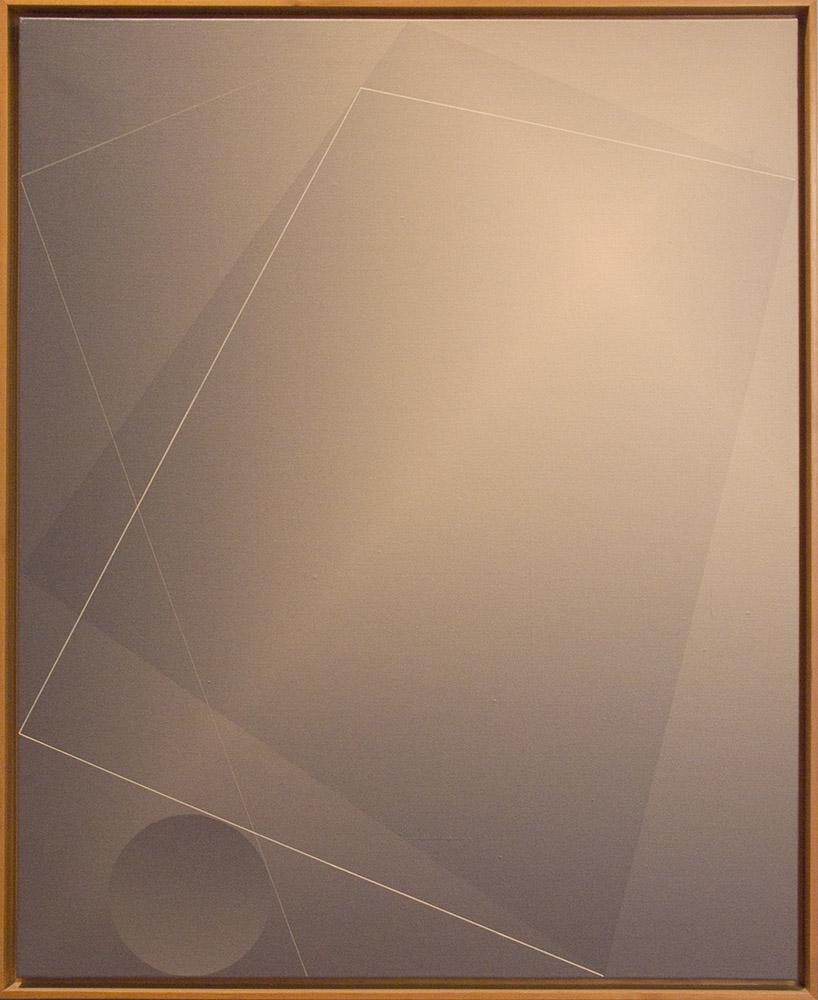 Sin título II (1973) 81x100cm. Serie 3 cuadros