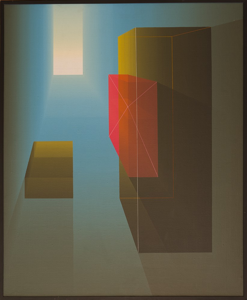 Homenaje a Giorgio de Chirico - El tiempo cristaliza la memoria (1981)