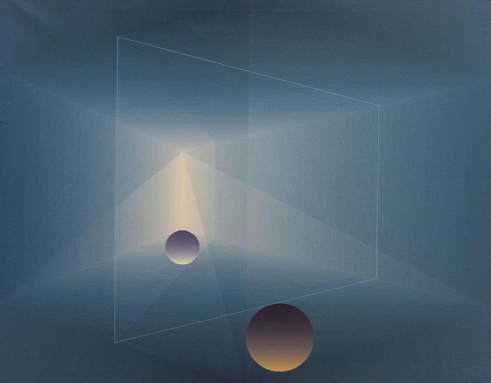 Espacio para un concierto de dos esferas