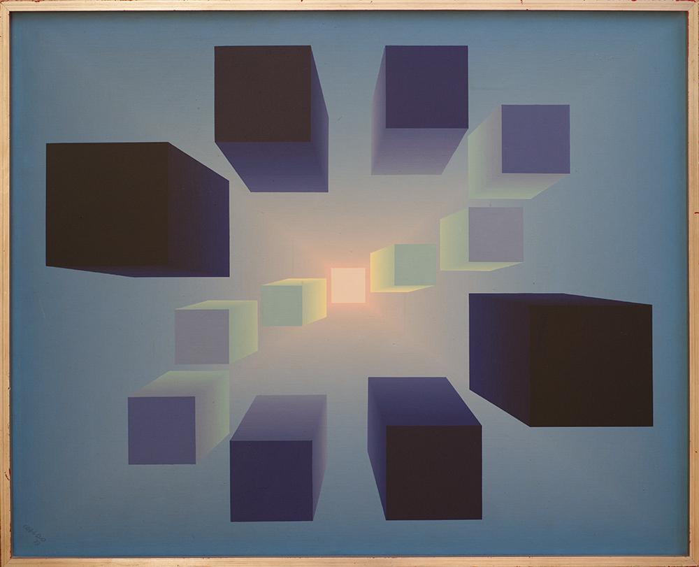 Teoría hacia la luz (1973) - Julián Casado Lamoca
