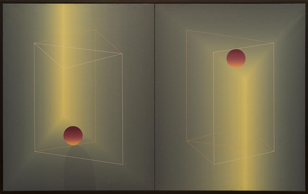 Serie XZ - 8 cuadros (2 cada uno) (1987) - Julián Casado Lamoca