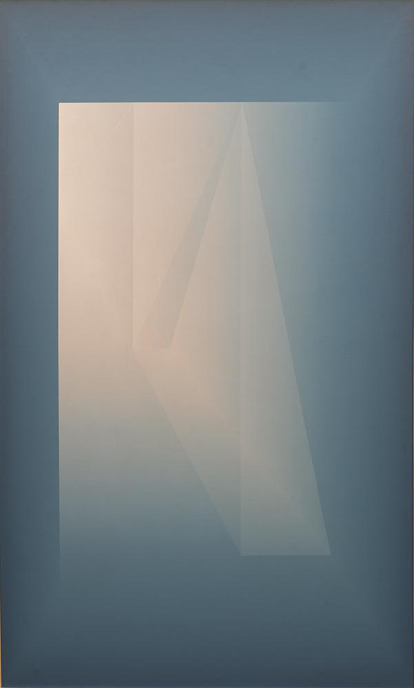 Espacio gnóstico azul (1977) - Julián Casado Lamoca