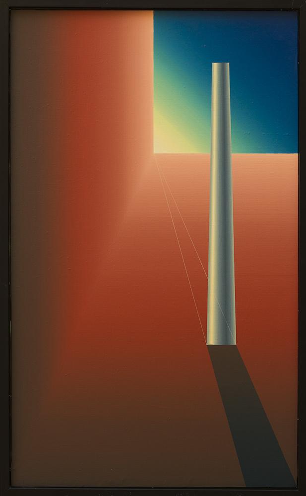 Homenaje a Giorgio de Chirico - La Columna I (1984) - Julián Casado Lamoca