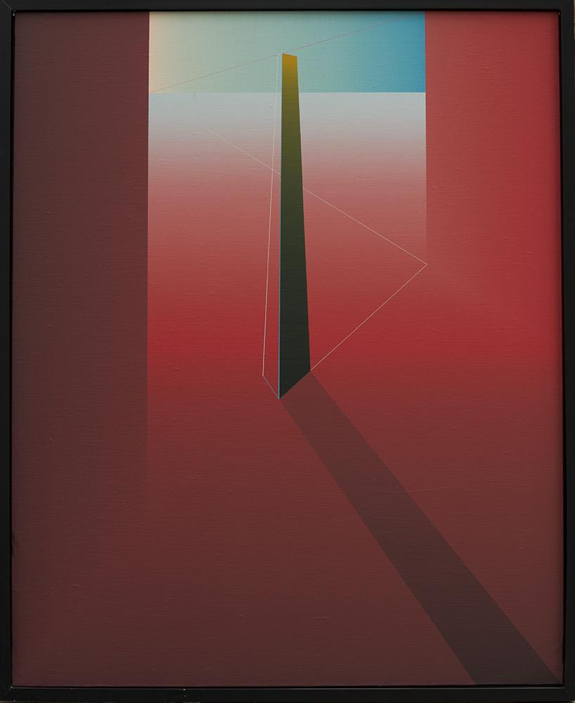 """""""El tiempo orienta la memoria"""" (""""El obelisco"""") (1983) - Julián Casado Lamoca"""