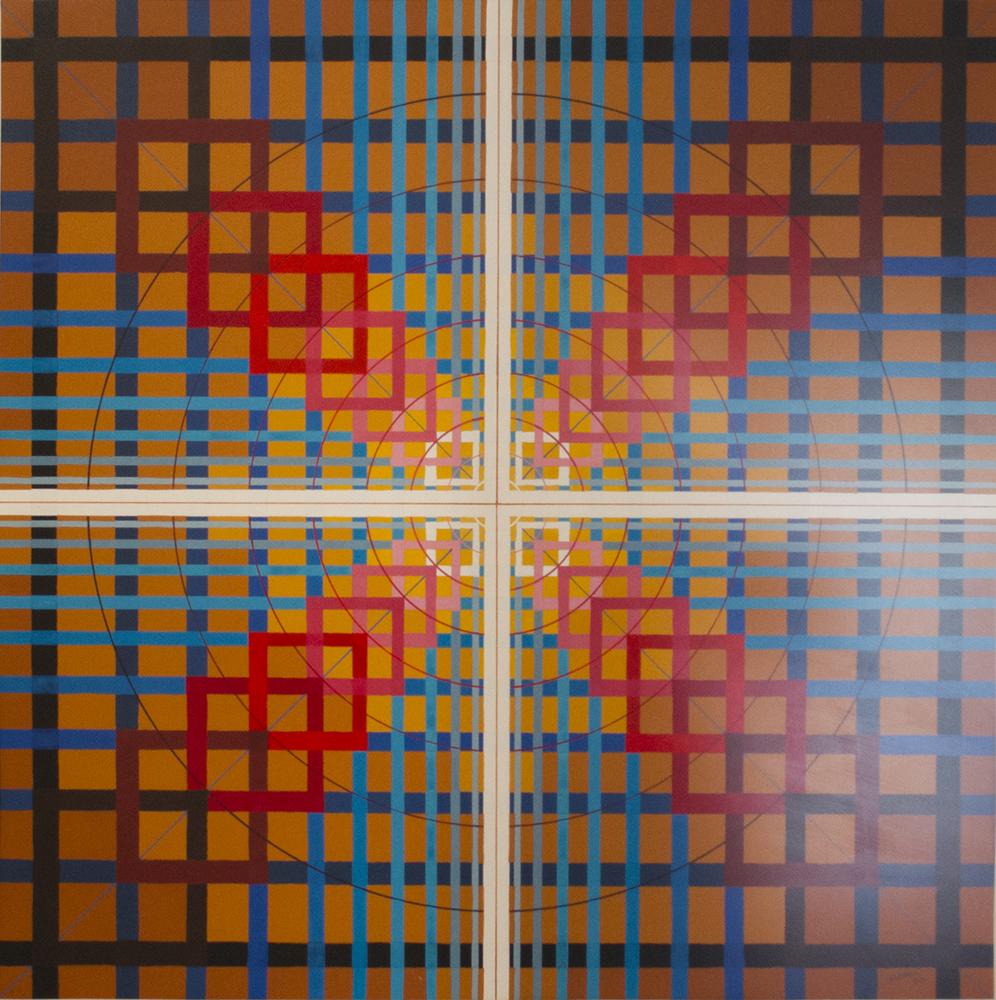 Abstracción Geométrica sin título (1970) - Julián Casado Lamoca