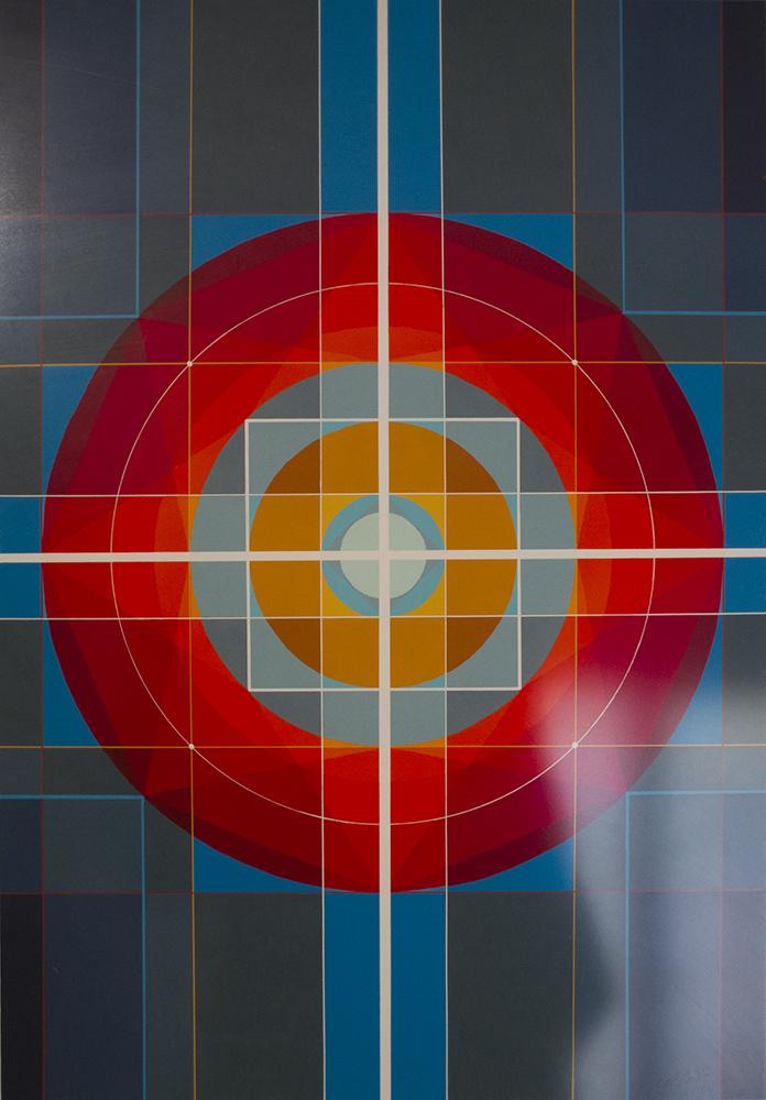 Abstracción geométrica sin título