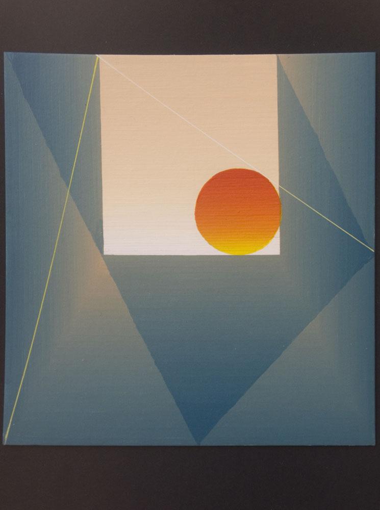 Jardines de Aranjuez (2005) 20x21cm. Serie 5 cuadros