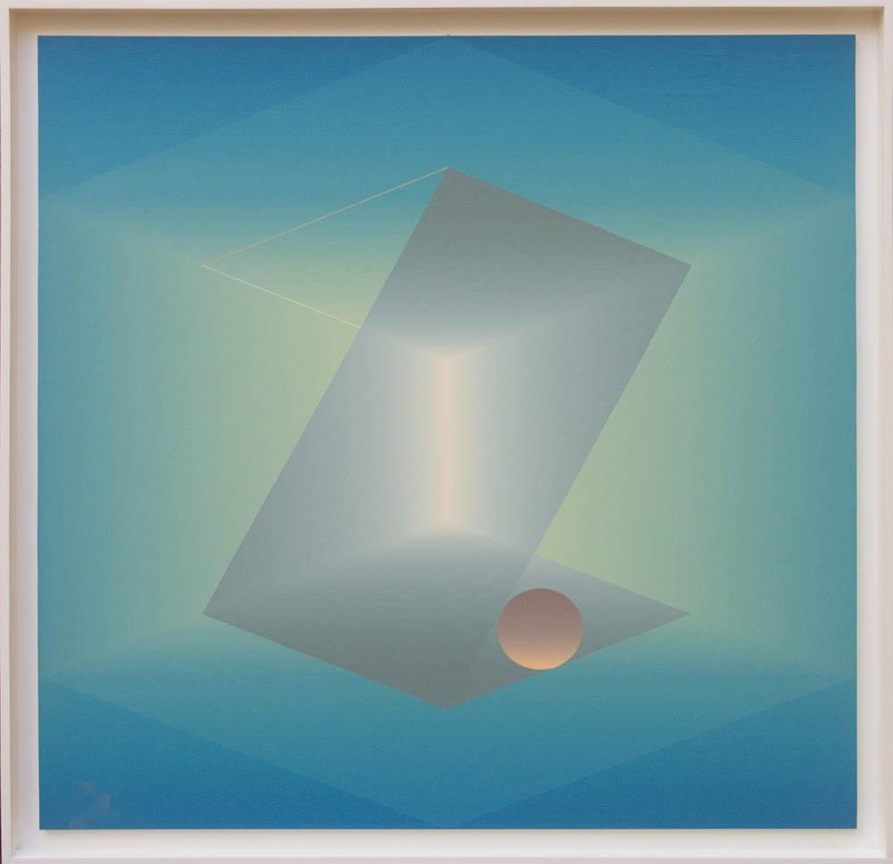 Secuencia Espacial II - 5 cuadros (1990) (1990) - Julián Casado Lamoca