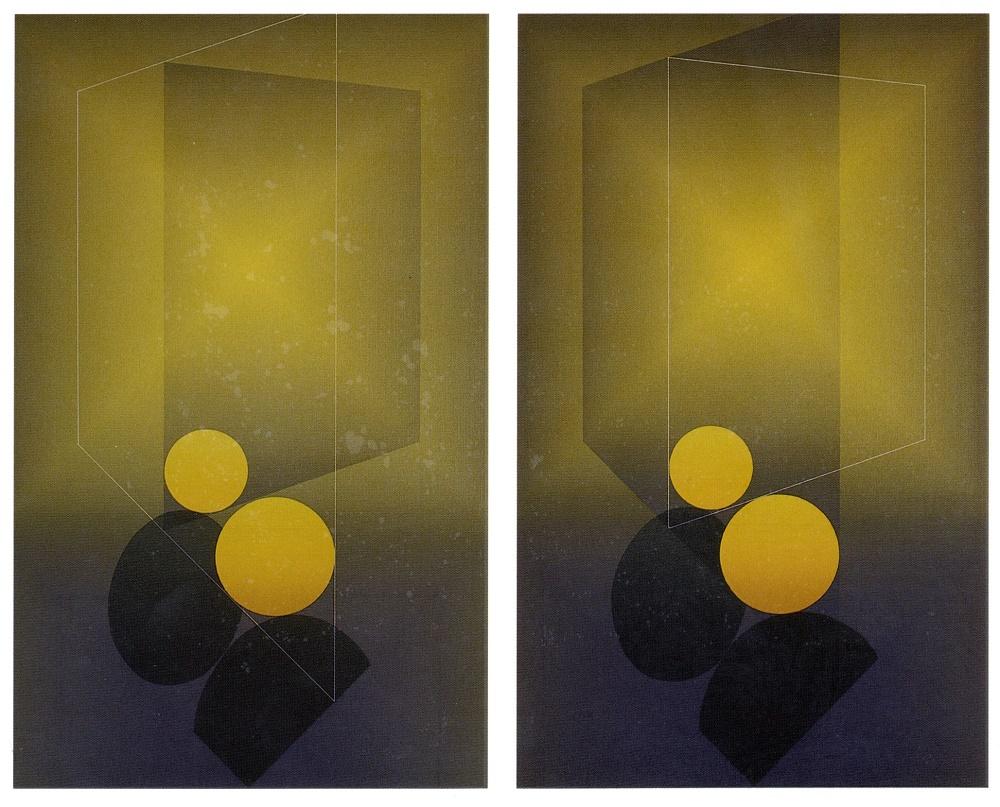 "Serie ""Vence"" homenaje a Henri Matisse. 8 cuadros (1992) - Julián Casado Lamoca"