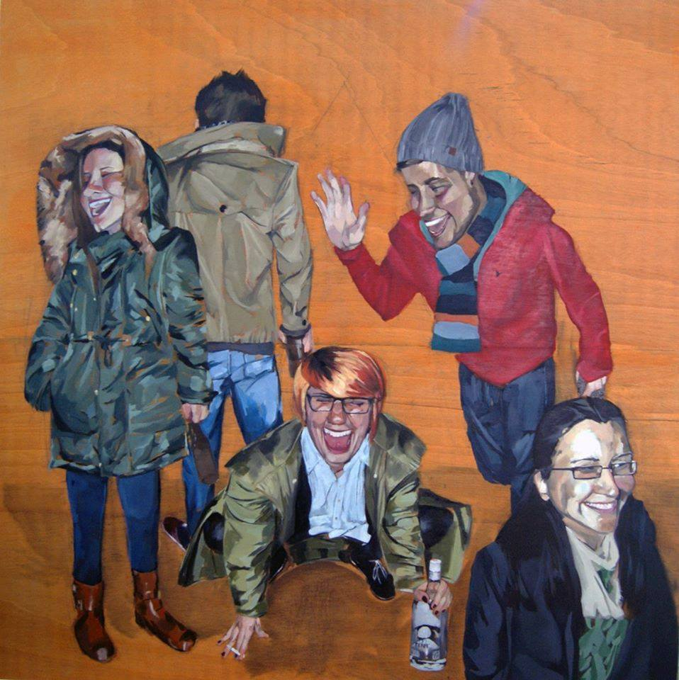 Escena de carrer (2014) - Borja Ibañez