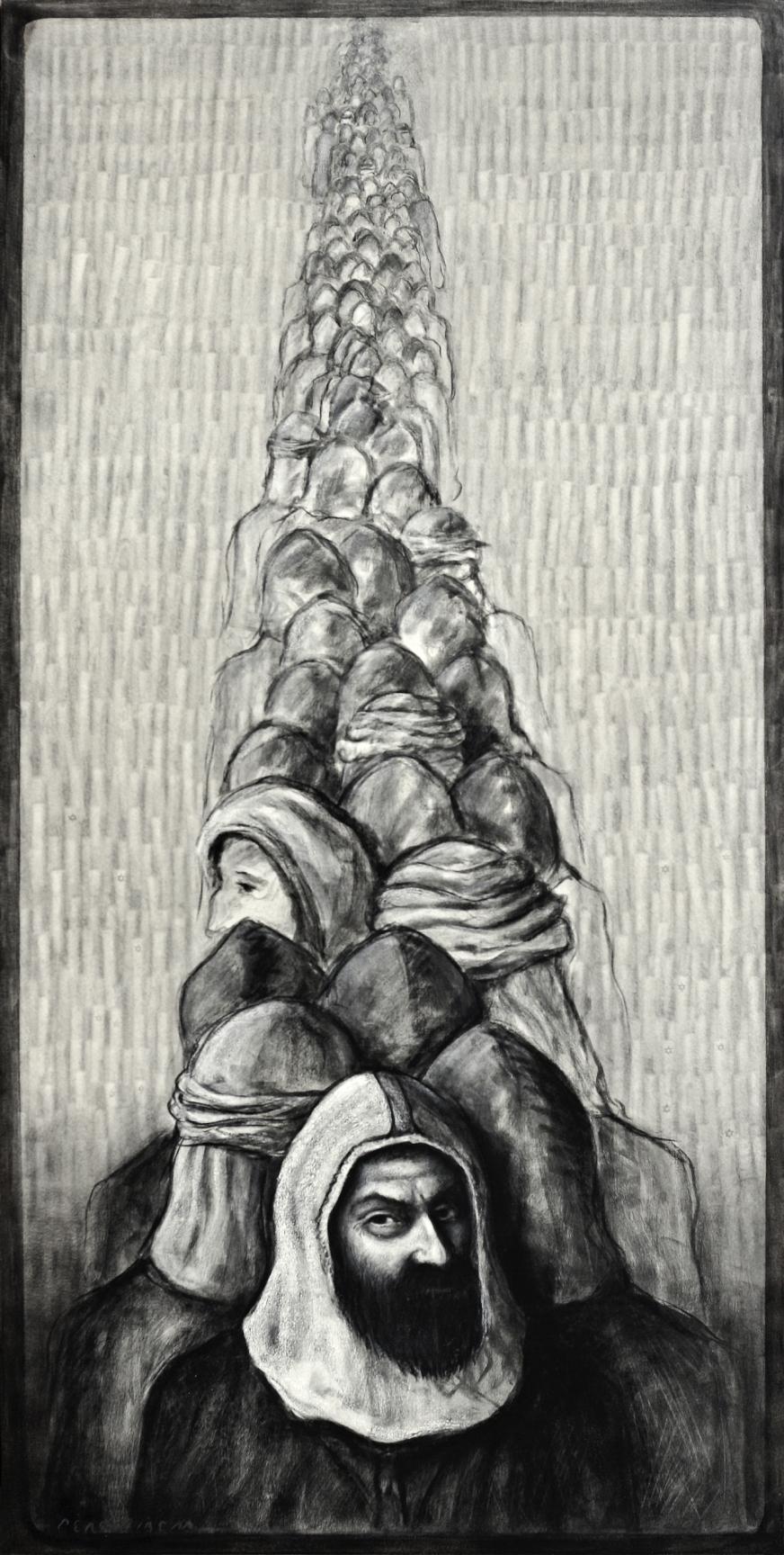 """""""Diásporas eternas...éxodos perennes"""""""" (2015) - Pere Ribera"""