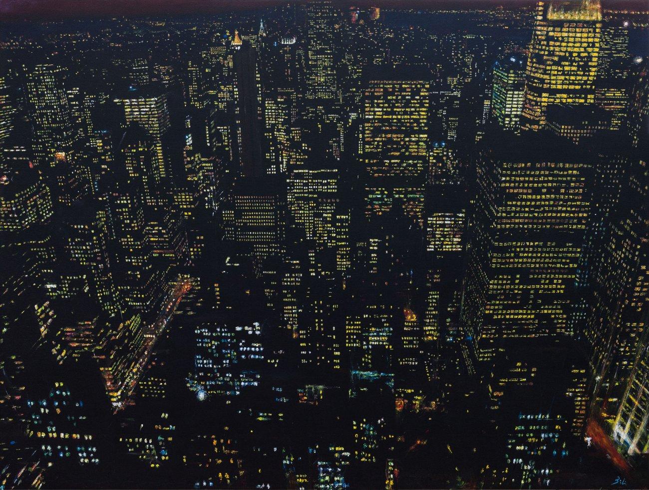 Mi visión desde Top on The Rock (N.York)