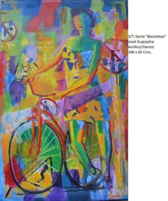 "S/T- serie ""Bcicletas"" (2018) - José V. Guacache Melo - Guacache"