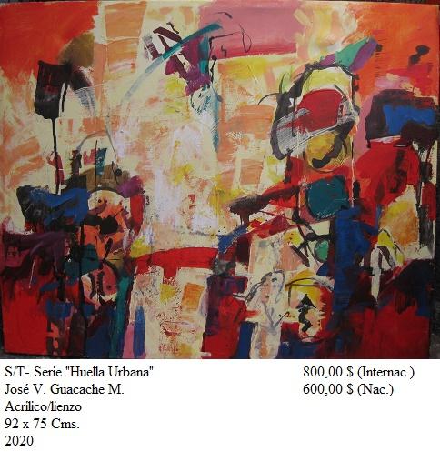 """S/T-  De la Serie  """"Huella Urbana"""" (2020) - José V. Guacache Melo - Guacache"""