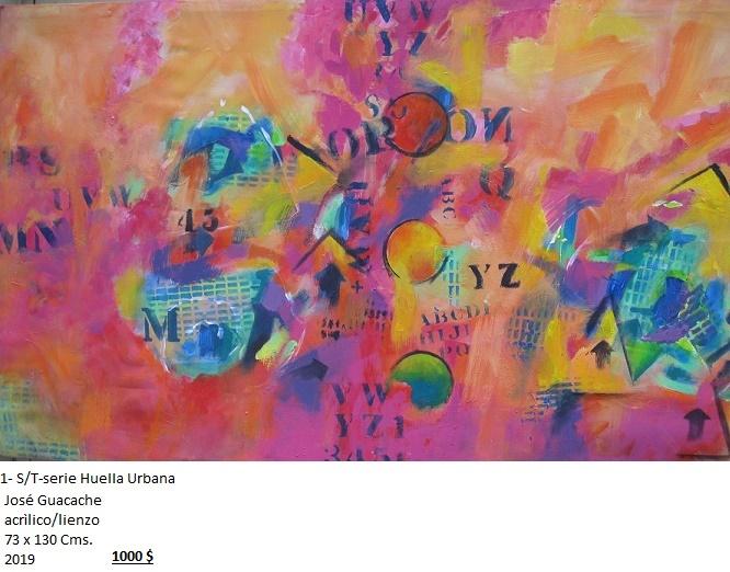 S/T-Serie Huella Urbana (2019) - José V. Guacache Melo - Guacache