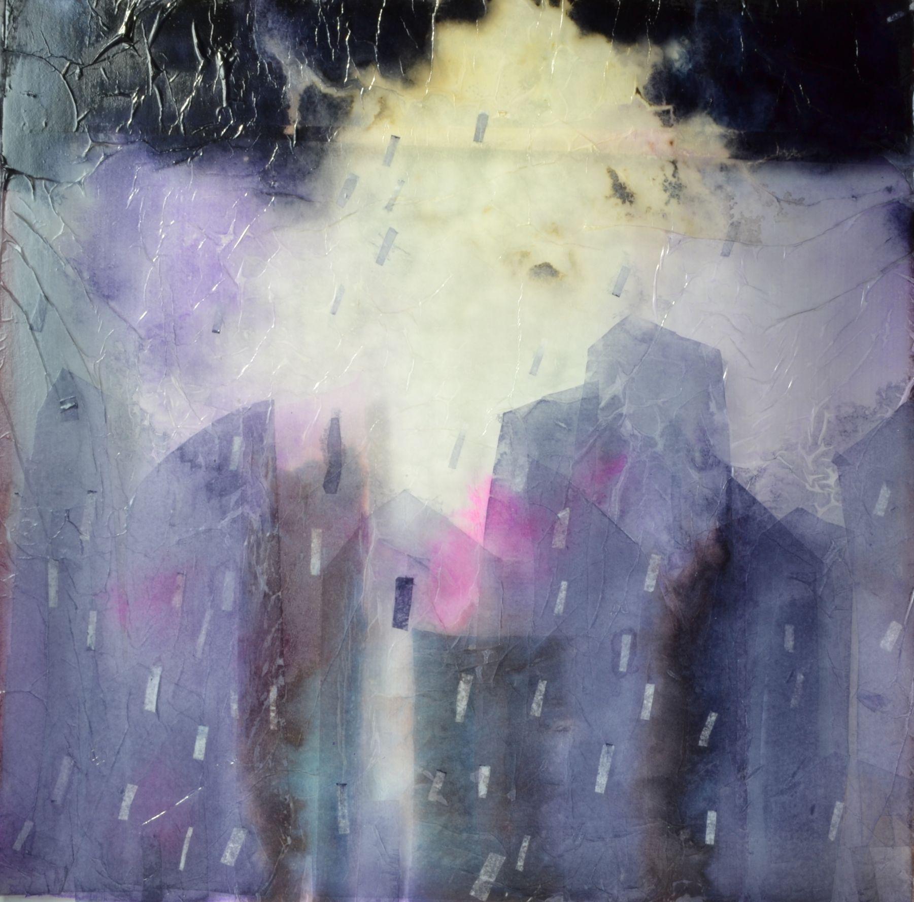 mezclado con la lluvia (2019) - Esther Cuesta