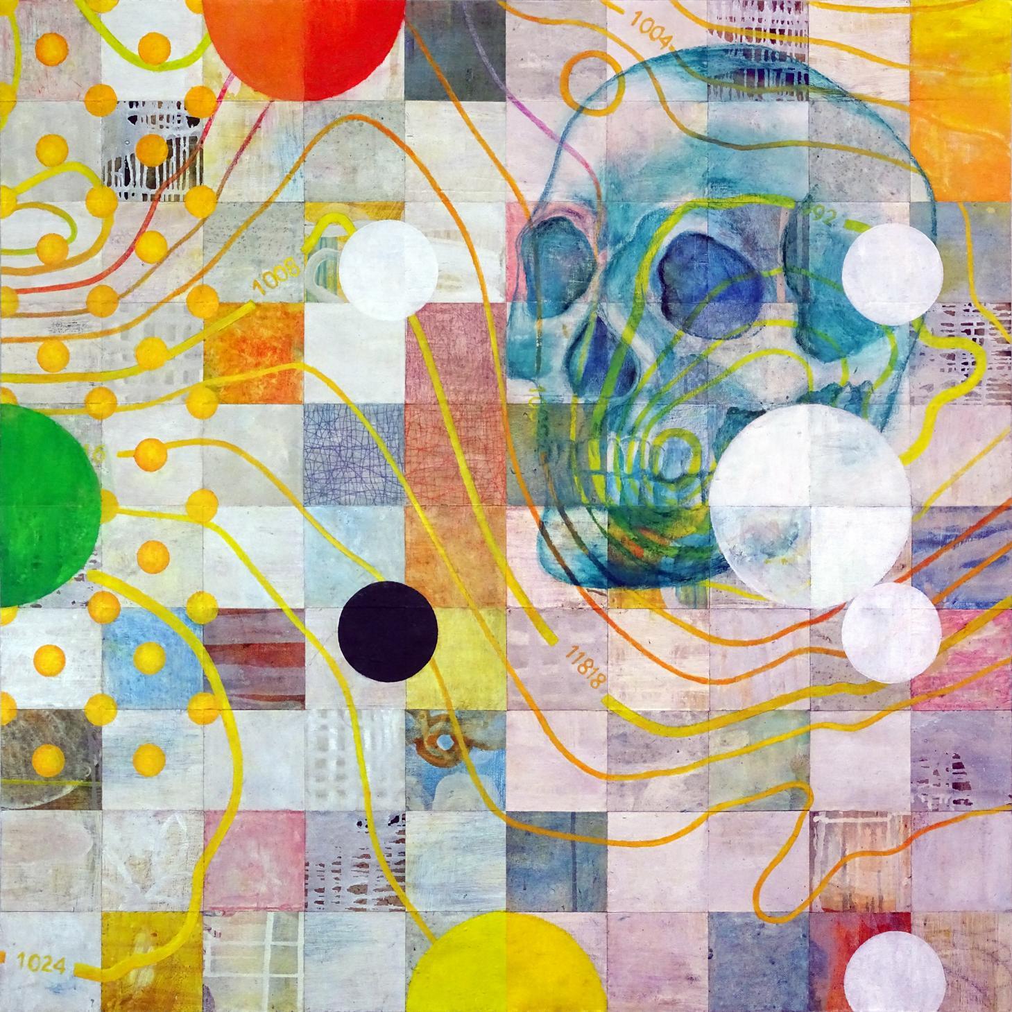 ISOBARAS Y CALAVERA (isobars and skull) (2019) - Carles Guitart Esteve