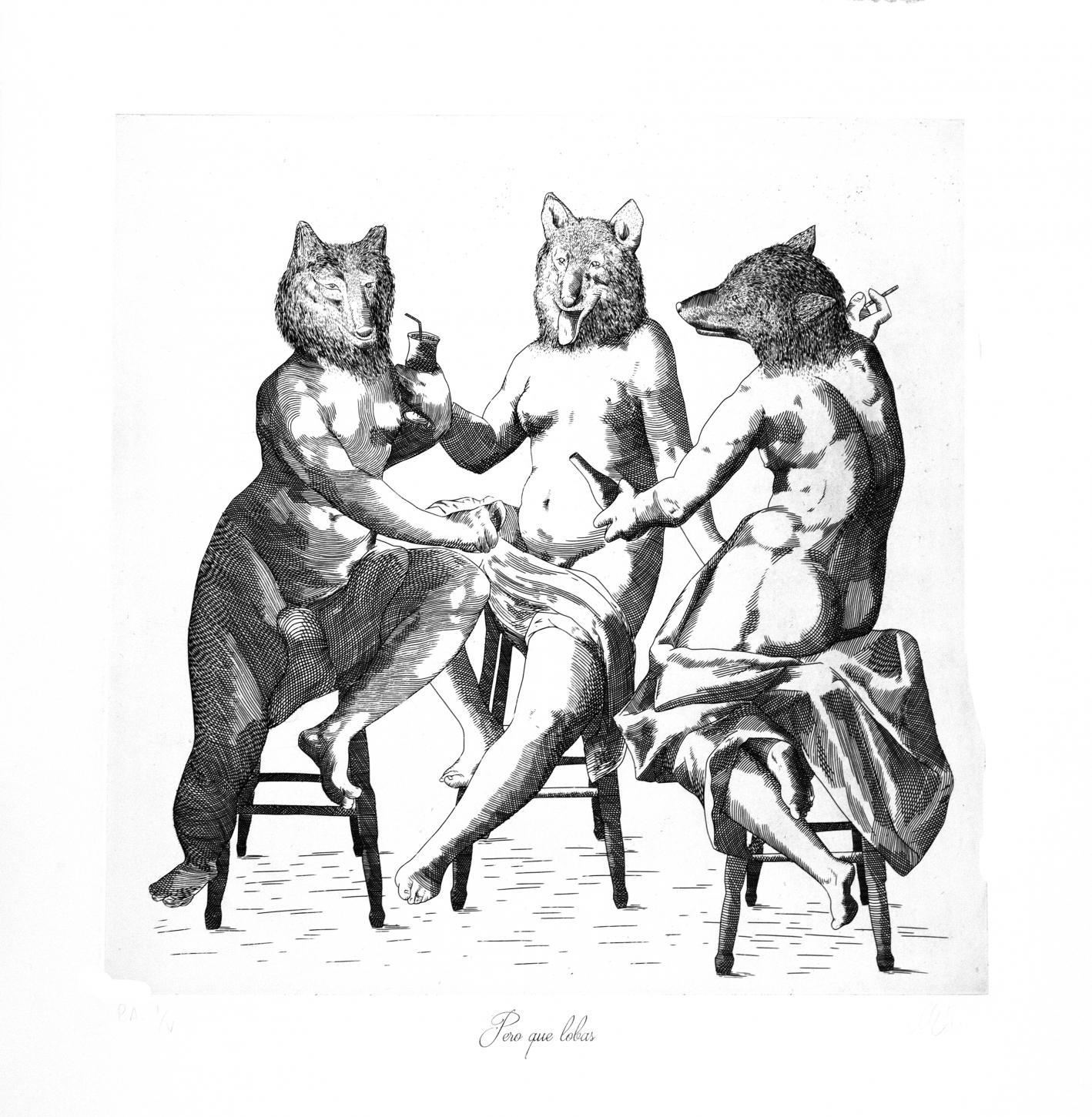 Pero qué lobas! (2019) - María del Carmen Díez Muñoz