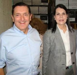 Ignacio Oberto y Valentina Anselmi de Oberto