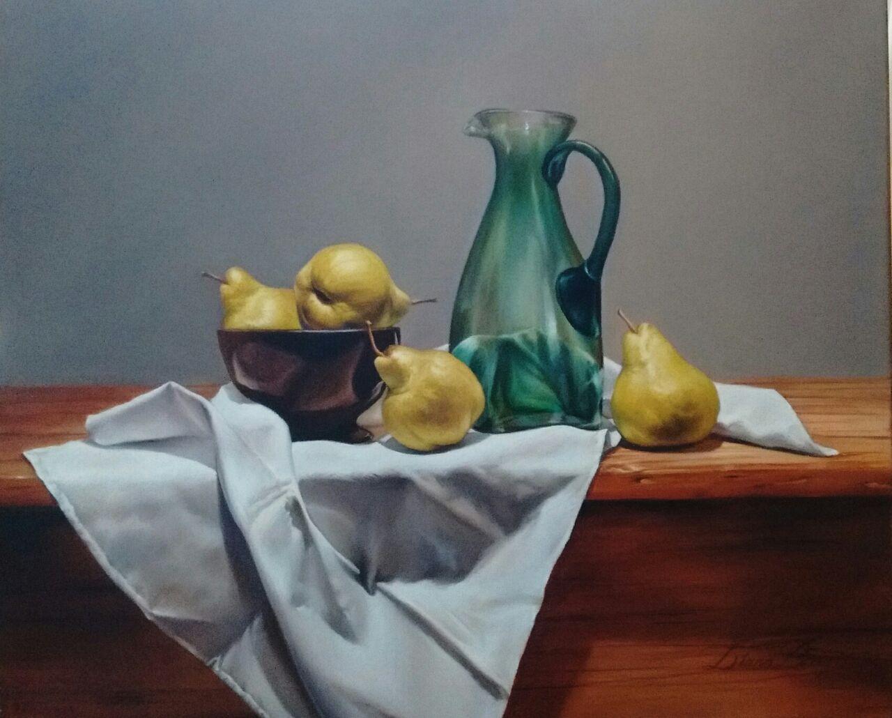 Bodegón con peras (2015) - Diana Ricci