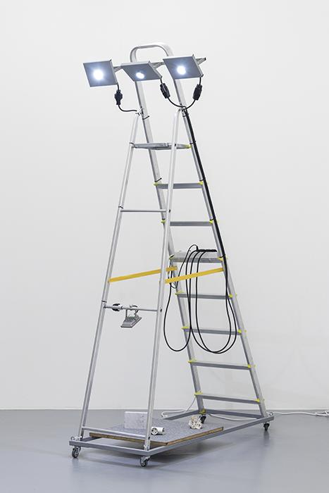 Lighting ladder (2017) - João Ferro Martins