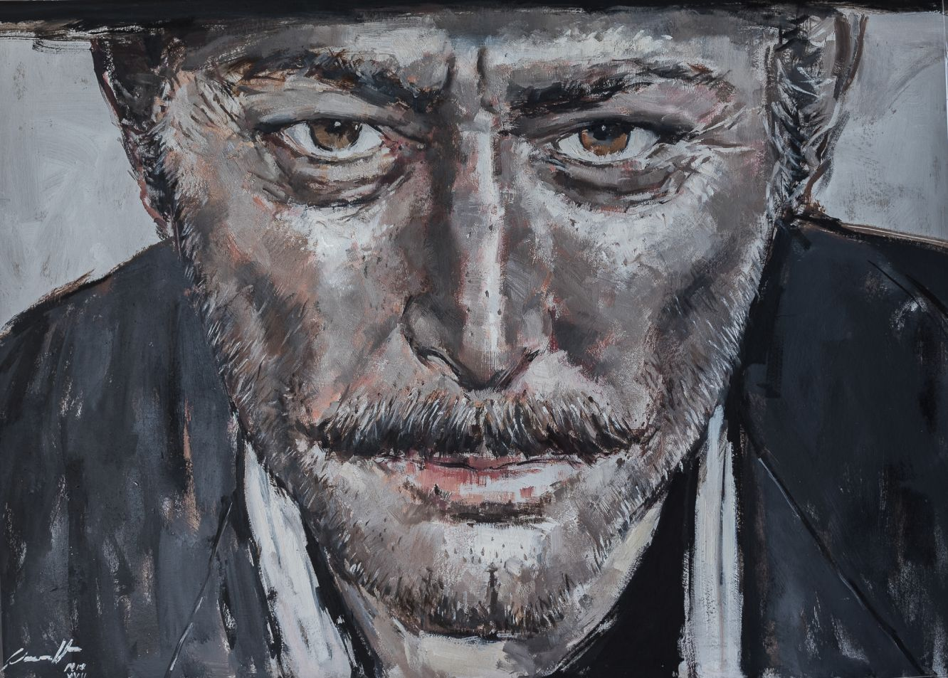 Retrato Lee Van Cleef