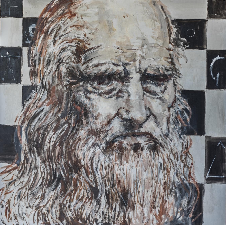 Retrato Leonardo Da Vinci