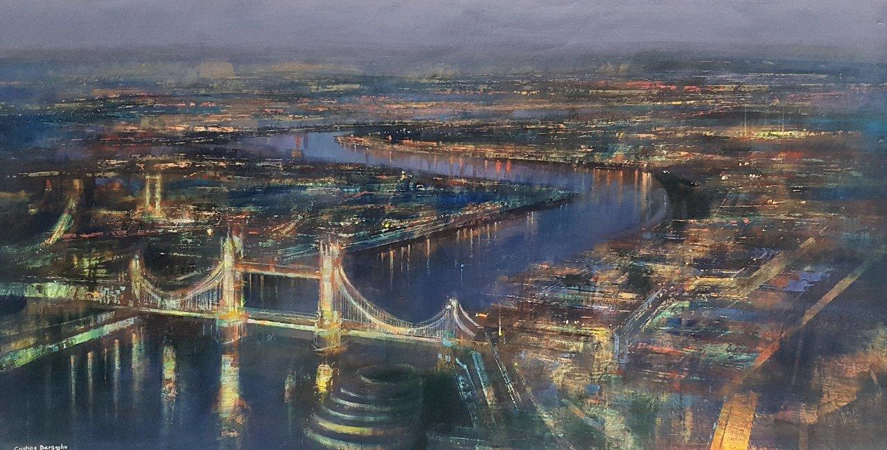 LONDRES PANORÁMICA (2020) - Cristina Bergoglio