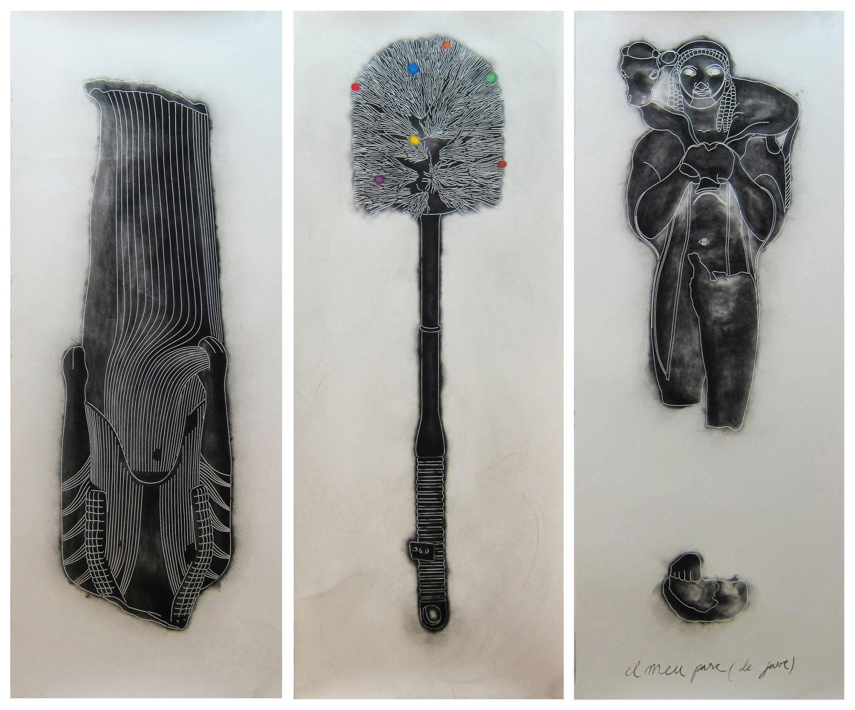 tríptico continuidades discontinuas (2011) - Jesús Galdón