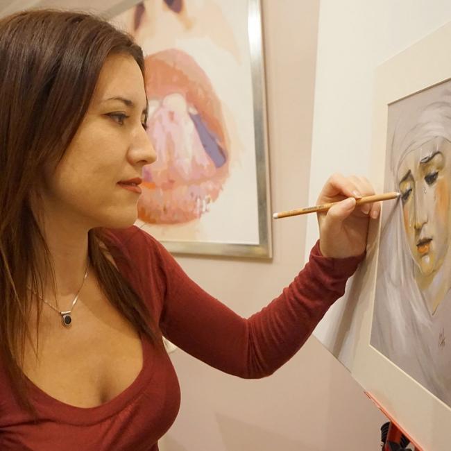 Inma Peña, Artista Plástica