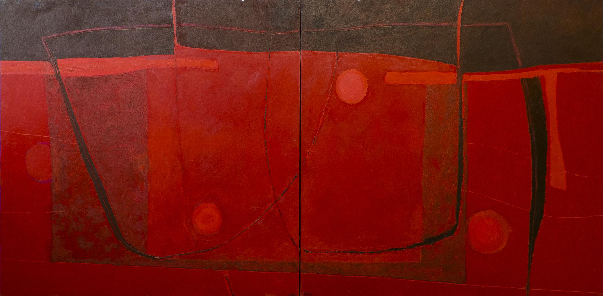 Rojo 1 y 2 (Diptico) (2014) - Pedro Carrasco